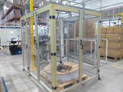 Estrutura de Alumínio Estrutural
